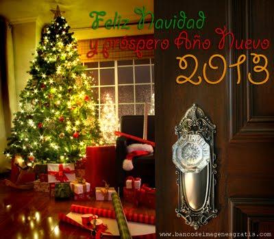 ¡¡FELIZ NAVIDAD Y PRÓSPERO 2013!!